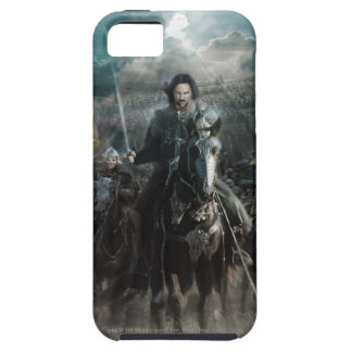 Aragorn Leading on Horse iPhone 5 Covers