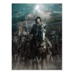 Aragorn Leading on Horse Post Card
