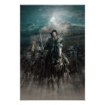 Aragorn Leading on Horse Print