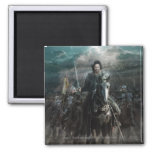 Aragorn Leading on Horse Refrigerator Magnets
