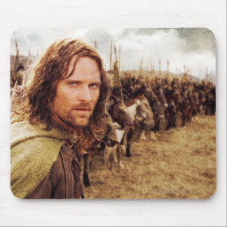 Aragorn Plus Line of Horses Mouse Pad