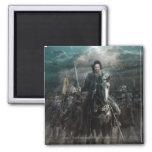 Aragorn que lleva en caballo imanes de nevera