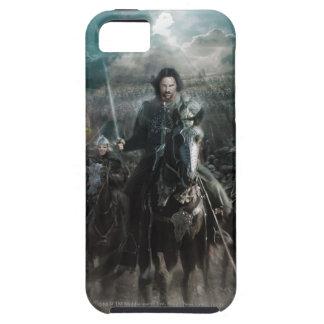 Aragorn que lleva en caballo iPhone 5 funda