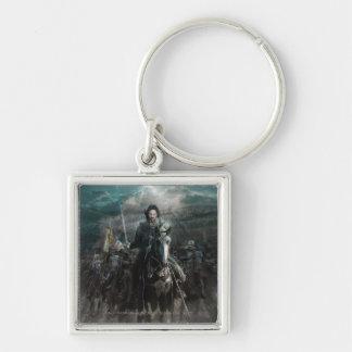Aragorn que lleva en caballo llavero
