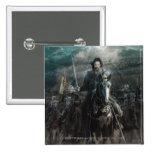Aragorn que lleva en caballo pins