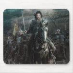 Aragorn que lleva en caballo tapete de ratón