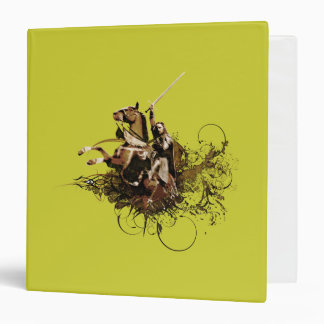 Aragorn Riding a Horse Vector Collage Binders