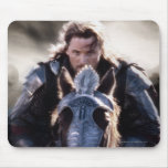 Aragorn Riding Horse Mouse Pad