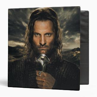 Aragorn Sword Down Vinyl Binders
