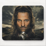 """Aragorn Sword Down Mouse Pad<br><div class=""""desc"""">Lord of the Rings: The Two Towers. Aragorn: If by my life or death I can protect you,  I will. You have my sword...  Ride hard,  don&#39;t look back.</div>"""
