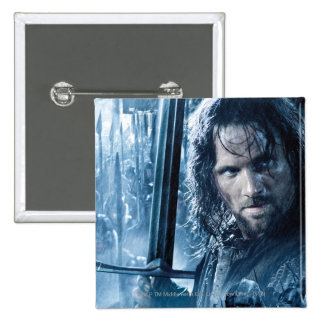 Aragorn Versus Orcs 2 Inch Square Button