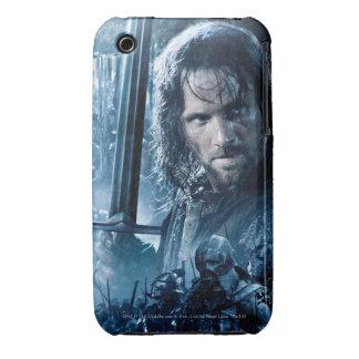 Aragorn Versus Orcs iPhone 3 Cases