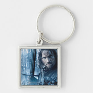 Aragorn Versus Orcs Keychain