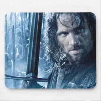 Aragorn Versus Orcs Mouse Pad