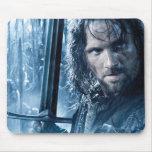 Aragorn Versus Orcs Mousepads
