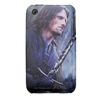 Aragorn with blood Case-Mate iPhone 3 case