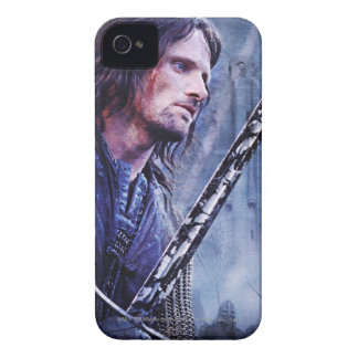 Aragorn with blood iPhone 4 cover