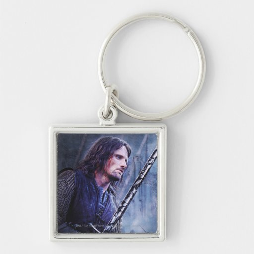 Aragorn with blood keychain