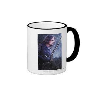 Aragorn with blood coffee mugs