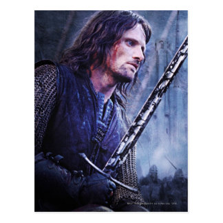 Aragorn with blood postcards