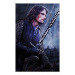 Aragorn with blood poster