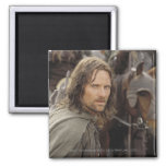 Aragorn with horse 2 inch square magnet