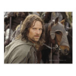 Aragorn with horse postcard