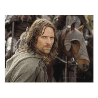 Aragorn with horse postcards