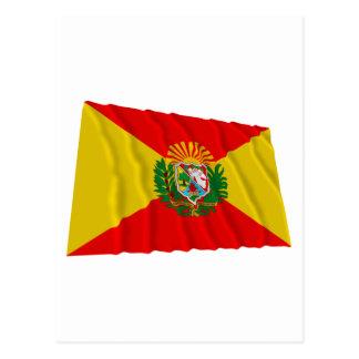 Aragua Waving Flag Postcard