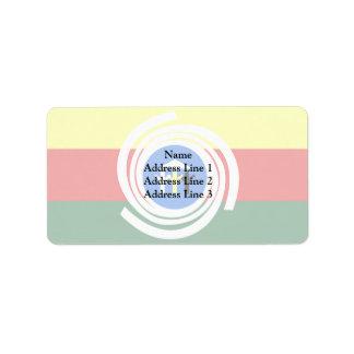 Araguaina Tocantins Brasil, Brazil Custom Address Label