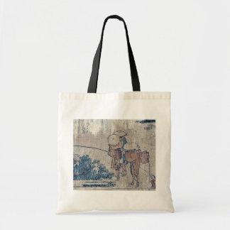 Arai by Katsushika, Hokusai Ukiyoe Bags