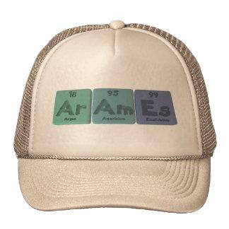 Arames-Ar-Am-Es-Argon-Americium-Einsteinium Trucker Hat