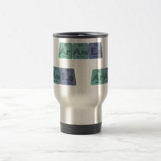 Arames-Ar-Am-Es-Argon-Americium-Einsteinium Travel Mug