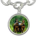 Aramis and Porthos Charm Bracelet