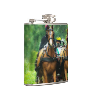 Aramis and Porthos Flask