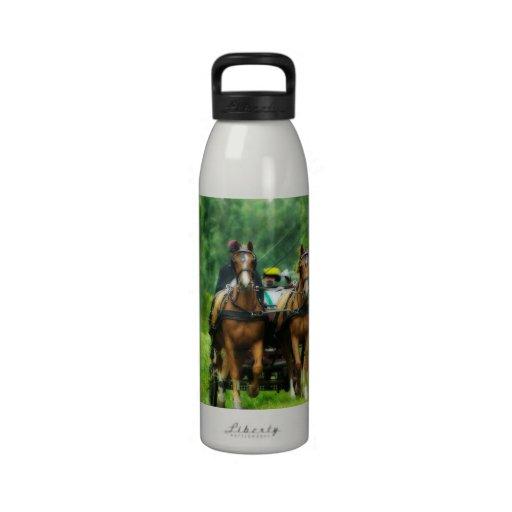 Aramis y Porthos Botellas De Agua Reutilizables