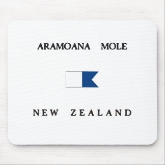 Aramoana Mole New Zealand Alpha Dive Flag Mouse Pad