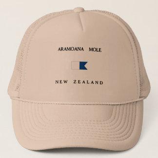 Aramoana Mole New Zealand Alpha Dive Flag Trucker Hat