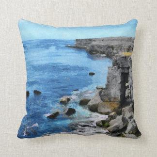 Aran Islands Throw Pillow