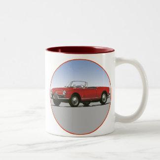 Araña 1600 de Alfa Romeo Giulla Tazas De Café