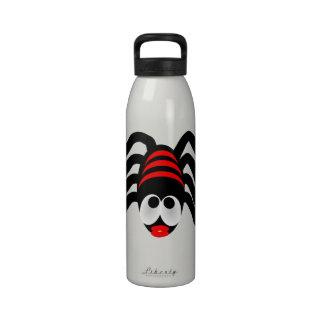 Araña Botella De Agua Reutilizable