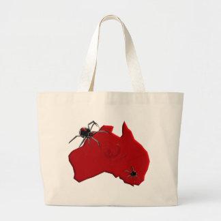Araña Australia del Redback Bolsa De Mano