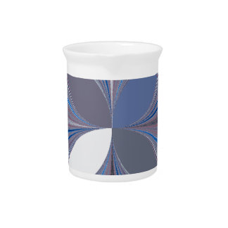 Araña azul jarra de beber