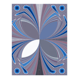 Araña azul plantillas de membrete