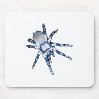 araña azul alfombrilla de ratones