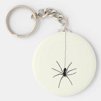 Araña colgante llavero redondo tipo pin