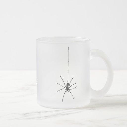 Araña colgante taza de café