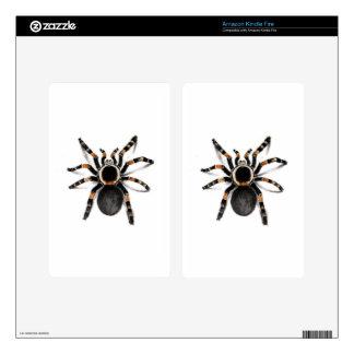 Araña congregada rojo del Tarantula Skins Para Kindle Fire