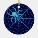 Araña cristalina ornamentos para reyes magos