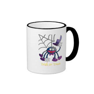 Araña de Bitsy Taza De Dos Colores
